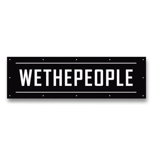 We The People Contest Banner Black